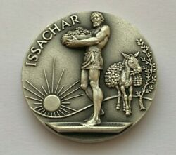 1970 THE TWELVE TRIBES OF ISRAEL MEDALLIC ART CO SILVER .999 PURE ISSACHAR MEDAL $199.99