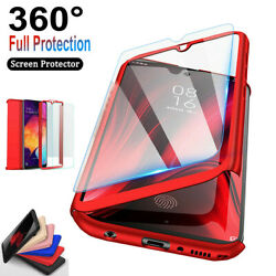 For Samsung Galaxy S9 S7 S8 S10 Plus 360° Full Body Hard Case Screen Protector $6.58