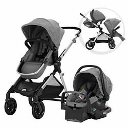 Evenflo Pivot Xpand Modular Travel System with SafeMax Infant Car Seat $498.45
