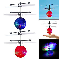 Flying Ball Mini LED Induction Helicopter Ball Perfect Gift RC Girls $9.32