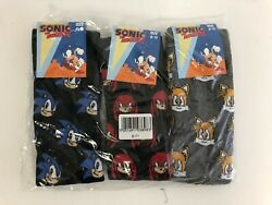 Mens 3 Pair SockShop SONIC the HEDGEHOG 6 11 Novelty Socks $13.00