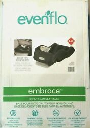 Evenflo Embrace Infant Car Seat Base Black Quick release Button Baby Safety NEW $34.97