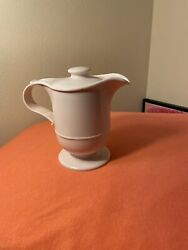 Small Commercial White Coffee Carafe Hot Water Pitcher Insulated Thermos