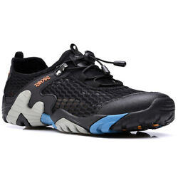 MENS MESH HIKING RAMBLING OUTDOOR WALKING TREKKING TRAIL SNEAKERS WATER SHOES $39.99