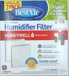 Best Air Replacement Humidifier Filter HW600 For Honeywell HEV615 $7.59