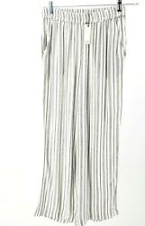 ANTHROPOLOGIE SPARKZ High Waisted Striped Pants XS S M L NWT $37.49