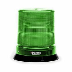7quot; Green 12 LED Magnet Permanent Mount Command Station Vehicle Beacon Light $104.99
