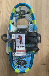 Yukon Charlie#x27;s Mountain Goat Blue 7x16 Junior Kids Snowshoes NEW $69.99