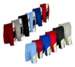 Mens Casual Mesh Shorts Basketball Sports Two Toned Gym Pants Workout Summer $8.76