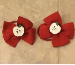 Gymboree quot;Candy Apple Prep School HTF Vintage Hair Accessories EUC $15.99