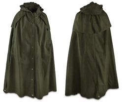 Size 2 USED and DAMAGED Polish Lavvu shelter tent Pair of 2 Canvas Ponchos Olive GBP 34.99