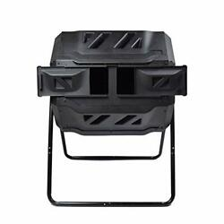 EJWOX Garden Compost Bin from BPA Free Material Dual Rotating Outdoor Compost... $137.96