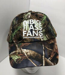 Big Ass Fans Hat Cap Camouflage Hunting Adjustable Country Hunter $14.99