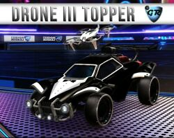 PC Drone III Painted limited Rocket League Topper $2.00