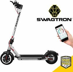 Swagtron High Speed Electric Scooter Cruise Control Portable Folding Swagger 5 $186.99