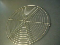 Large Round Wire Meat Rack Trivet 12quot; diameter1quot; High For Cast Iron Dutch Oven $15.95
