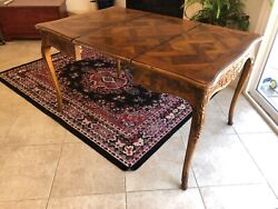 henredon antique table with leave $1700.00