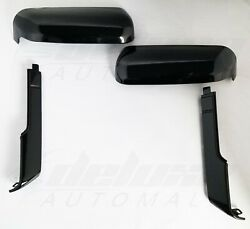 Black TopSide Replacement Mirror Covers FOR 20 21 Chevy Silverado GMC Sierra HD $95.99
