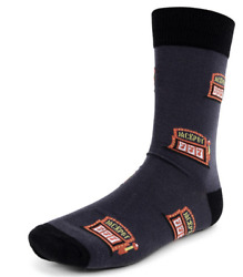 Jackpot 777 Theme One Pair Men#x27;s Fun Novelty Crew Socks $8.99