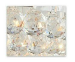 New Pottery Barn Elizabeth Chandelier Replacement Crystals Round Ball Set of 4 $12.00
