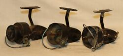 Mitchell Vintage Parts Lot #1 3 Incomplete Fishing Reels $9.99