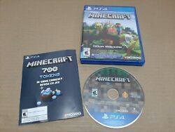 Minecraft for PS4 C $39.25