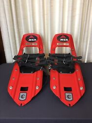 MSR Denali Classic Snowshoes 8x22 Red Pre Owned Excellent Condition $149.99