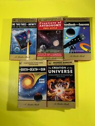 Lot of Five Vintage Science Mentor Books Gamow Hoyle Paperback $12.99