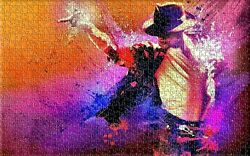 Michael Jackson Collage King of Pop Play Hobby Wall Decor Puzzle Jigsaws 504 pcs $51.03
