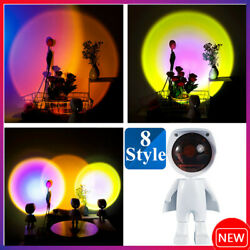 Table Lamp Sunset Projection Lamp Decoration Floor Bedroom Atmospheres Light # $16.49