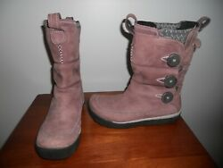 Merrell womens boots size 8 Tempest High Huckleberry leather winter Waterproof $46.00