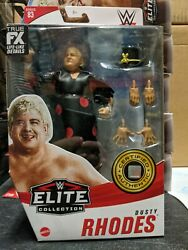 Dusty Rhodes Mattel WWE Elite Collection Series 83 Action Figure #x27;90 Surv Series $28.99