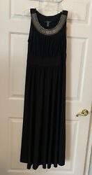 Ramp;M Richards Black Formal Evening Gown
