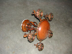 Antique Light Fixture Hanging with 5 sockets $99.99