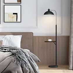"""OYEARS Modern Floor Lamp with Table for Living Room Minimalist 64.75"""" Tray Floor $93.09"""