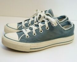Converse All Star Women Lace Up Blue Low Top Shoe Sneaker Size 6 Euro 37 $29.99