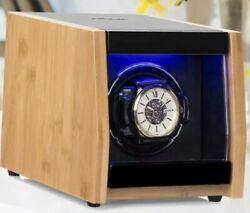 JINS and VICO Quiet Motor Watch Winder Made of Premium Natural Bamboo GJ 29200 $48.00