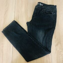 American Eagle Womens Low Rise Stretch Charcoal Wash Skinny Jeans Size 8 $17.10