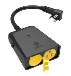 Etekcity Single Outlet For Outdoor Remote Control Outlet Outlet Only No Remote $14.00