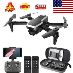 CSJ S171 PRO RC Drone Camera 4K Foldable Quadcopter Headless Mode 3D Flight Gift $37.42