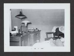 MAN#x27;S TOES BEDROOM OFFICE DESK LAMPS OLD VINTAGE PHOTO SNAPSHOT A364 $6.99