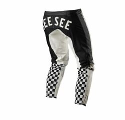 See See Motorcycle Fox Racing Langlits Leathers MX Motorcycle Pants $239.95