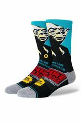 Stance Star Wars L 9 13 Men#x27;s Empire Strikes Back Yoda 40th Anniversary Socks $17.90