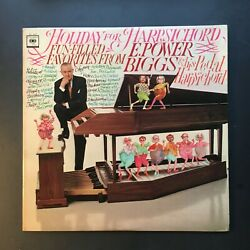 Holiday for harpsichord E.POWER BIGGS $5.00