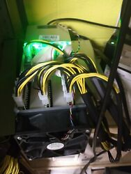 Antminer s9 power sup 2 3 boards working. Running BrainOS appx 9 10Th s $450.00