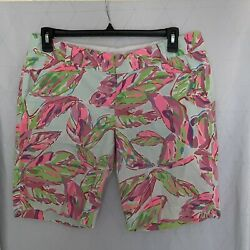 Lilly Pulitzer The Chipper Short Size 12 Multicolor $34.99