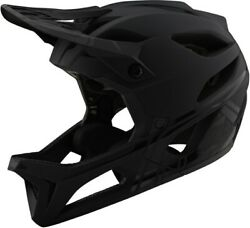 Troy Lee Designs TLD Stage MIPS MTB Helmet Stealth Midnight Black Medium Large $275.00