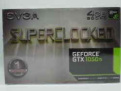 EVGA GeForce GTX 1050 TI SC Gaming 4GB GDDR5 Graphics Card *NEW* $295.00