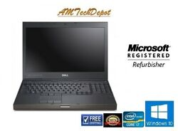 Dell Precision M4600 Core i7 Quad Core 2.4 GHz 8GB 500GBHDD Win10 Pro 64 BIT $269.00