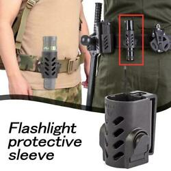 Flashlight Holster Torch Case Pouch Cover Rotatable plastic high strength $9.18